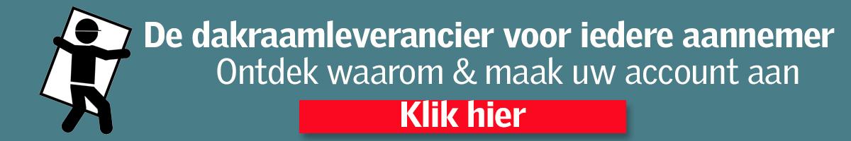 De dakraamleverancier voor iedere aannemer. Klik en ontdek waarom | De Dakraaamshop.nl