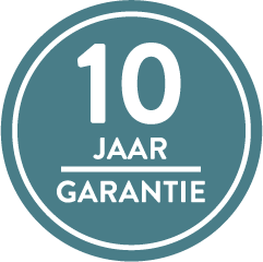 10jaar fabrieksgarantie