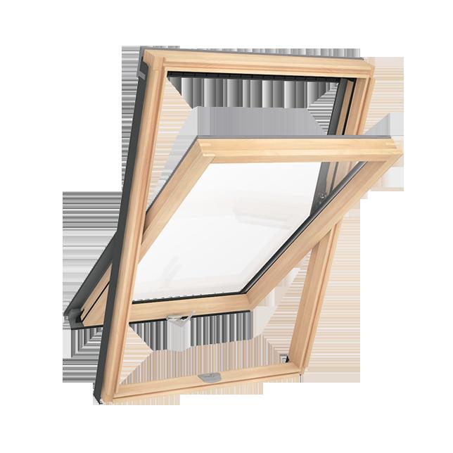 Au/ßenrollladen F/ür Velux GGL F06 66x118cm Holz Dachfenster Aussenrollladen elektrisch mit Steuerung und Fernbedienung Hitzeschutz Dachfenster Sonderangebot