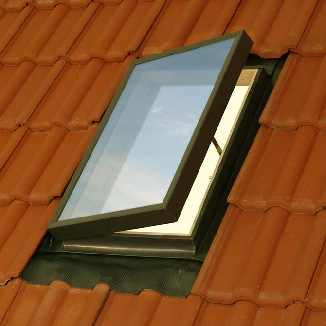Safe and Secure Roof Windows VELUX Security Lock