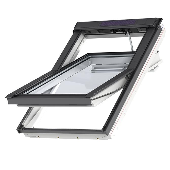 velux integra solar pu centre pivot roof window l ggu l. Black Bedroom Furniture Sets. Home Design Ideas