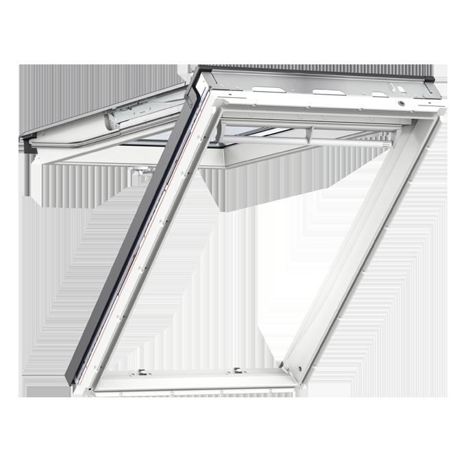 Velux Manual White Pu Top Hung Roof Window L Gpu L